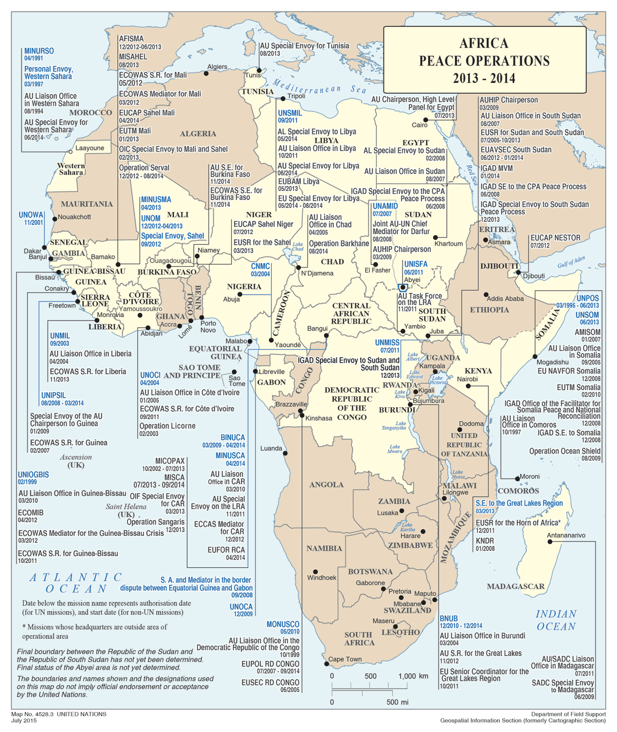 This map represents all un peace operations based within africa for 2015 png version of the map gpormapafricajuly20151200x1422 gumiabroncs Gallery